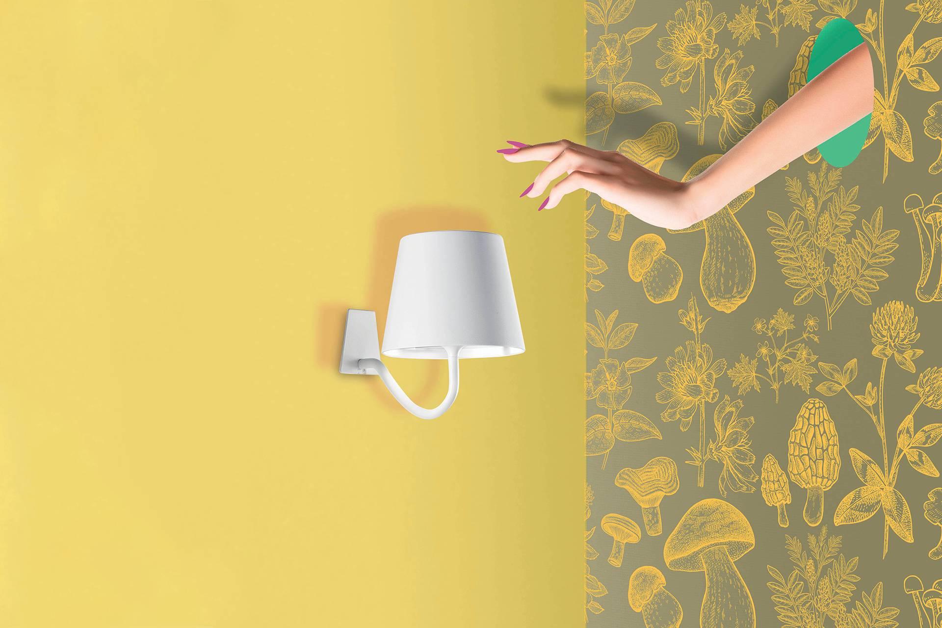 zafferano poldina parete lampes poldina